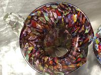 2 Italian Murano 20th Century Fratelli & Torso Millefiori Glass Vases (8 of 15)