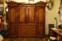 Antique William IV Mahogany 4 Door Wardrobe (2 of 5)