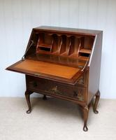 Walnut Chinoiserie Bureau (5 of 10)