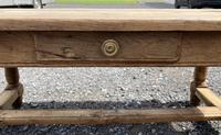 Rustic Bleached Oak Coffee Table (11 of 11)