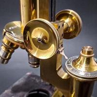 Brass Microscope by R & J Beck Ltd (7 of 7)