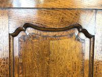 19th Century Antique Oak Corner Cupboard (5 of 8)