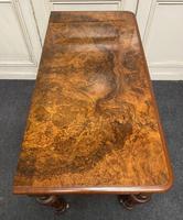 Fine Rare Burr Walnut Writing Table or Desk (15 of 20)