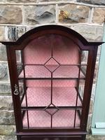 Antique Mahogany Display Music Cabinet (3 of 9)