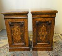 Pair of Walnut Bedside Cabinets (7 of 8)