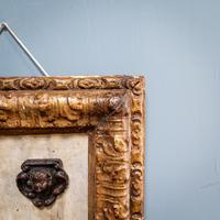 5 Carved Heads in Gilt Frame (8 of 10)