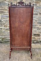 Antique Mahogany Cheval Mirror (3 of 18)