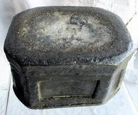 Antique English Georgian Lead Tobacco Box (7 of 8)