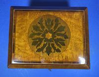 Regency Burr Maple  Jewellery Box With Inlay (3 of 16)