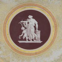 Early Coalport Neo Classical Dessert Plate Greek Key Border c.1805-1810 (3 of 8)