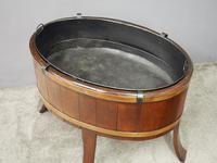 Mahogany Oval Wine Cooler / Jardiniere (6 of 8)