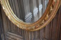 Pair of Gilt French Oval Mirrors (5 of 7)