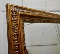 Very Large French Gilt Overmantel or Over Mantle Mirror (4 of 7)