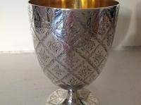 Antique Victorian Silver Goblet - 1862 (2 of 5)