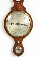 19th Century Mahogany Wheel Barometer by Harris of Holborn (3 of 3)