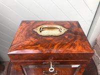 Antique Burr Walnut Ladies Jewellery Box (5 of 9)