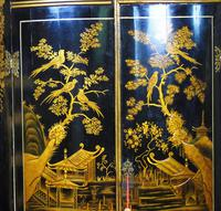 Handsome Regency Chinoiserie Corner Cabinet (6 of 8)