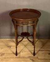 Fine Quality Edwardian Side or Lamp Table (8 of 10)