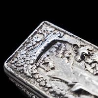 Georgian Solid Silver Snuff Box with Pheasant Scene - Thomas Shaw 1834 (24 of 28)