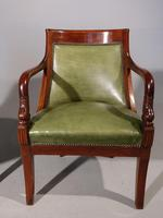 Pair of Charles X Period Mahogany Framed Chairs (4 of 5)