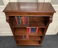 Mahogany Open Bookcase (5 of 11)