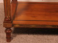 Louis XVI Console in Cherrywood, 18th Century Stamped LM Pluvinet (5 of 15)