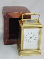 Elkington London Gorge Case Carriage Clock & Box (2 of 5)