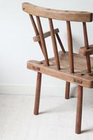 19th Century Irish 'Country / Vernacular' Hedge Chair from Co. Antrim (19 of 45)