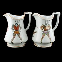 Pair of Elsmore & Forster Puzzle Jugs (6 of 9)
