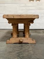Extremely Rare Large Oak Refectory Table (25 of 35)