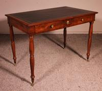 Writing Desk Stamped Deman Early 19th Century In Mahogany (5 of 11)