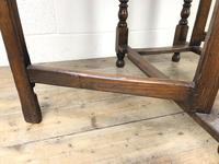 Early 20th Century Oak Gateleg Table (8 of 9)