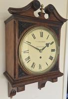 Stunning English Fusee Carved Timepiece (5 of 9)