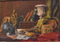 Pair of Still-life Oil Paintings by A Bonnefoy (6 of 13)