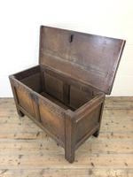 Antique 18th Century Joined Oak Coffer (5 of 15)