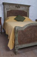Magnificent French Caned Kings Size Marriage Bed (3 of 13)