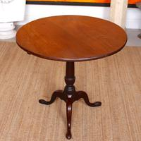 Georgian Tripod Table Tilt Top Mahogany Folding (2 of 9)