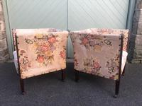 Pair of Antique English Upholstered Chairs (7 of 12)