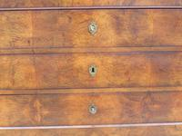 Antique Louis Philippe Walnut Marble Top Chest of Drawers (6 of 11)