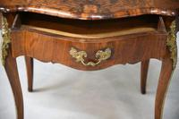 French Inlaid Walnut Centre Table (7 of 12)