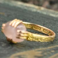 The Antique Victorian 1866 Ornate Moonstone Ring (2 of 5)
