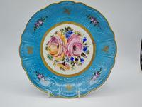 Vintage German Porcelain Plates / Chargers Bavarian /Set of Three (13 of 32)