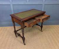 Good Late Victorian Mahogany Writing Table (8 of 14)