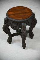 Anglo Indian Padouk Side Table (10 of 11)