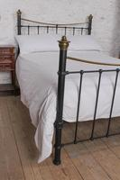 Classic Edwardian Dip Rail Brass and Black (6 of 6)