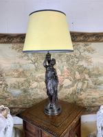 Super Quality 19th Century Lamp Featuring a Maiden (6 of 6)