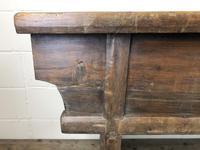 Unusual Oriental Elm Altar Table Sideboard (7 of 18)