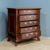 17th Century Oak Chest of Drawers (4 of 6)