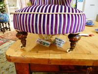 Unusual French 19th Century Upholstered Child's Chair (5 of 7)