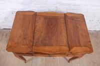 French Walnut Veneer Fold out Dressing Table (5 of 7)